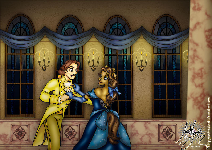 Beauty and her Beast by andreshanti on DeviantArt - Beauty And The Beast Hairstyle