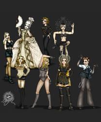 Madonna - Striking a Pose by andreshanti