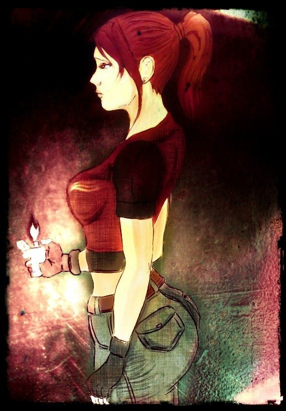 Claire Redfield fanart by soul4rusty