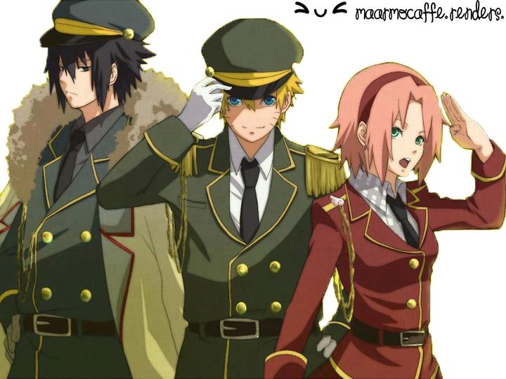 Kakarin: Sasuke , Naruto Y Sakura Render By MaarMocaffe On DeviantArt