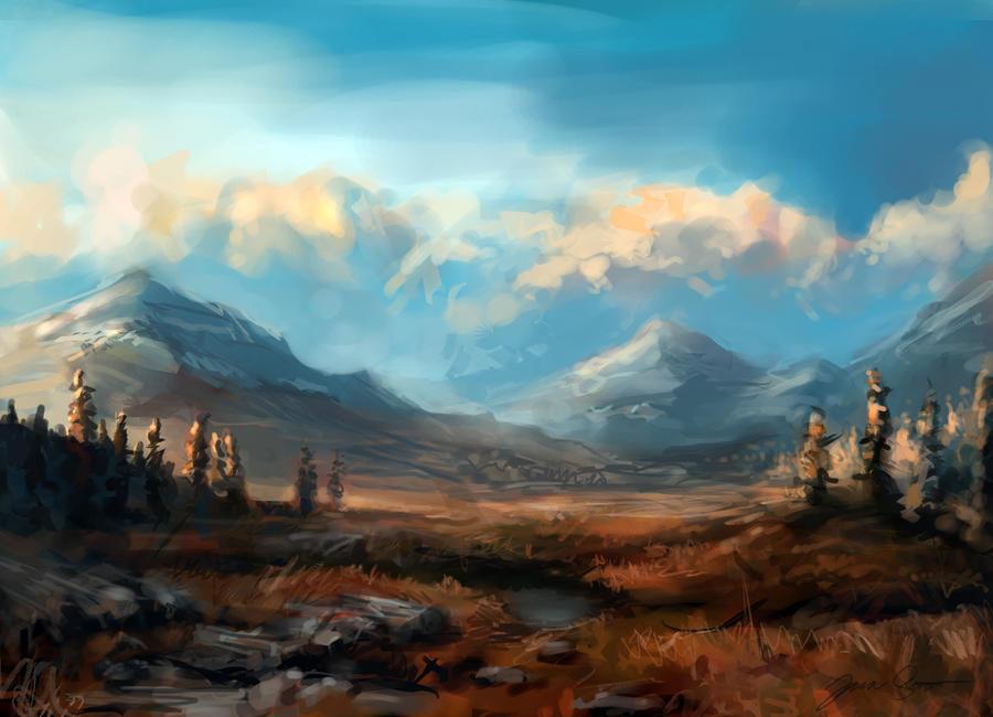 Tundra Valley by Odobenus