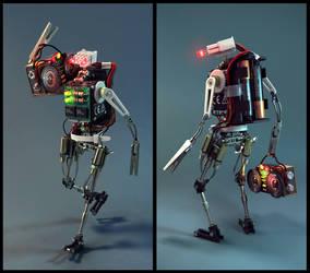 Robot by Odobenus