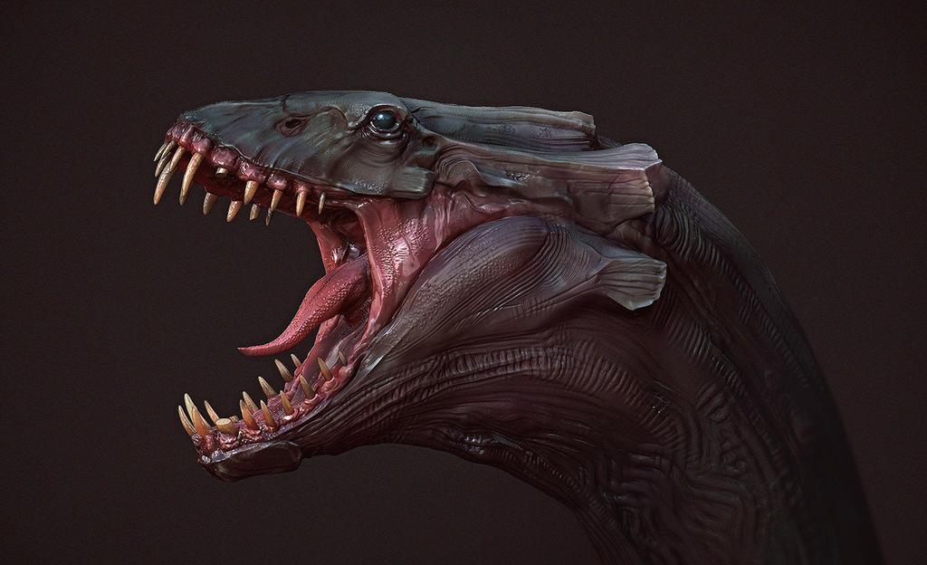 Creature Sculpt by Odo...