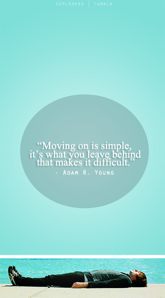 Moving on is Simple by Mon-Papillon