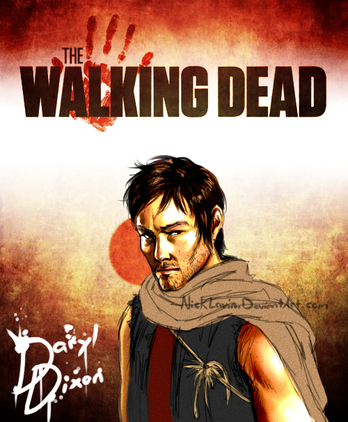 --The Walking Dead: Daryl Dixon-- by NickLavin