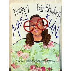 Bday Card for Marj Cocjin