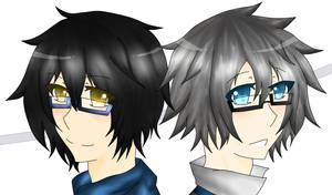 If They wore glasses... by XxHinata950xX