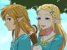 Link And Zelda Do Something by iLovePvP