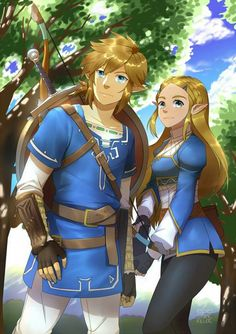 Link and Zelda can be friend? by iLovePvP