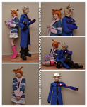 Pokemon Colosseum Wes and Rui cosplay