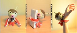 ACNL Zucker plushie by Possumato