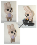 Animal Crossing Coco plush FOR SALE by Possumato