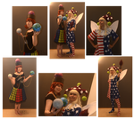 Clownpiece and Hecatia Cosplay
