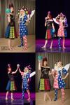 Mimicon 2018 Hecatia and Clownpiece