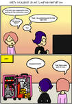 Crazy Cosplayers - Tetris by Possumato