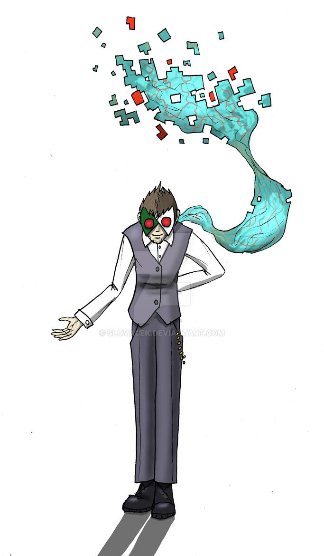 Rogz AKA ''Digital'', the classy ghoul by Slovacek