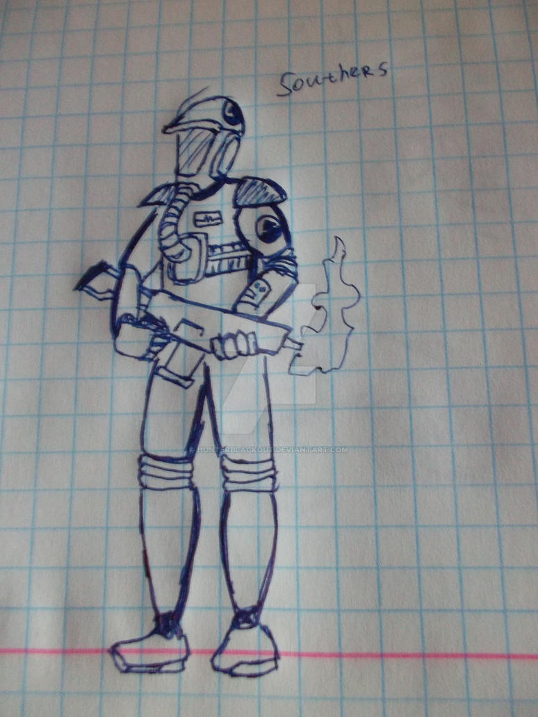 Southers! (Rogue Trooper) by HUNTeRblackout