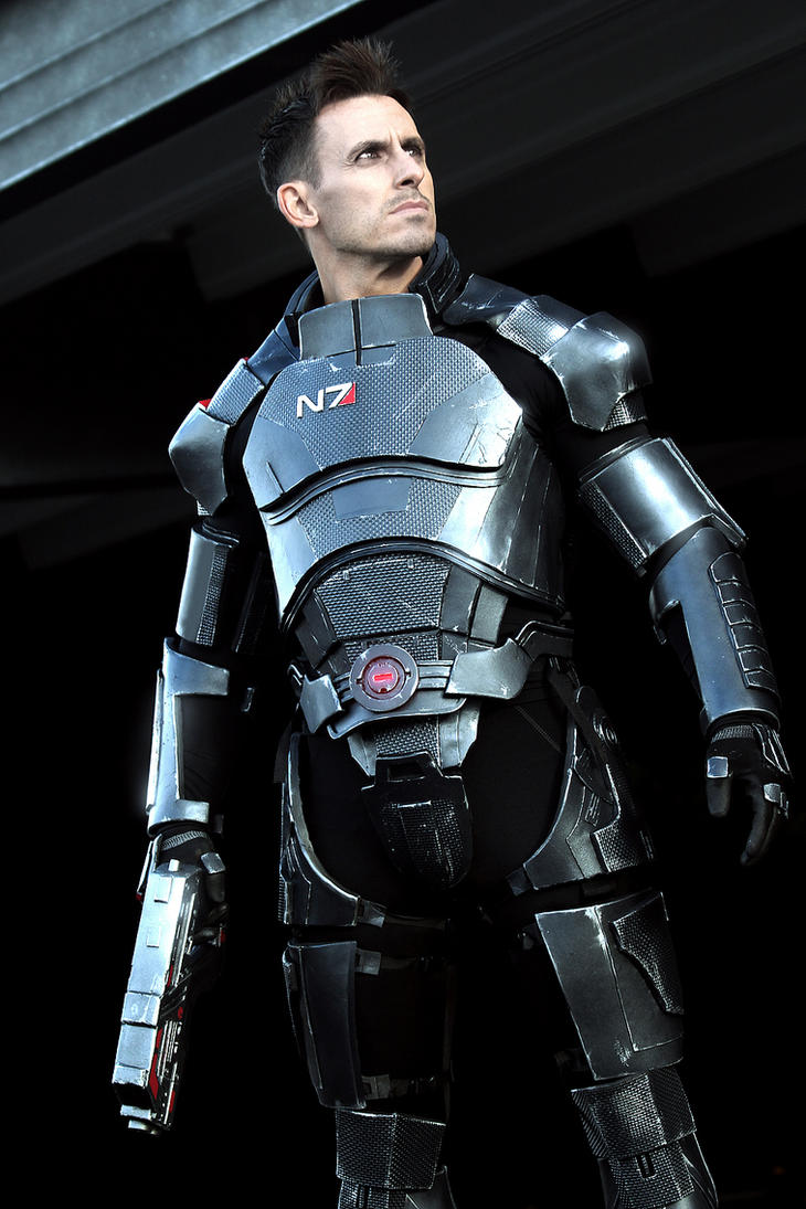 Commander Shepard: Human Spectre by LittleBlondeGoth