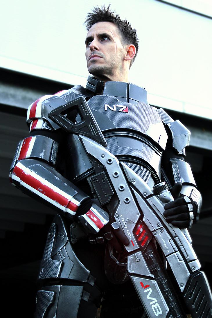 Commander Shepard: Renegade by LittleBlondeGoth