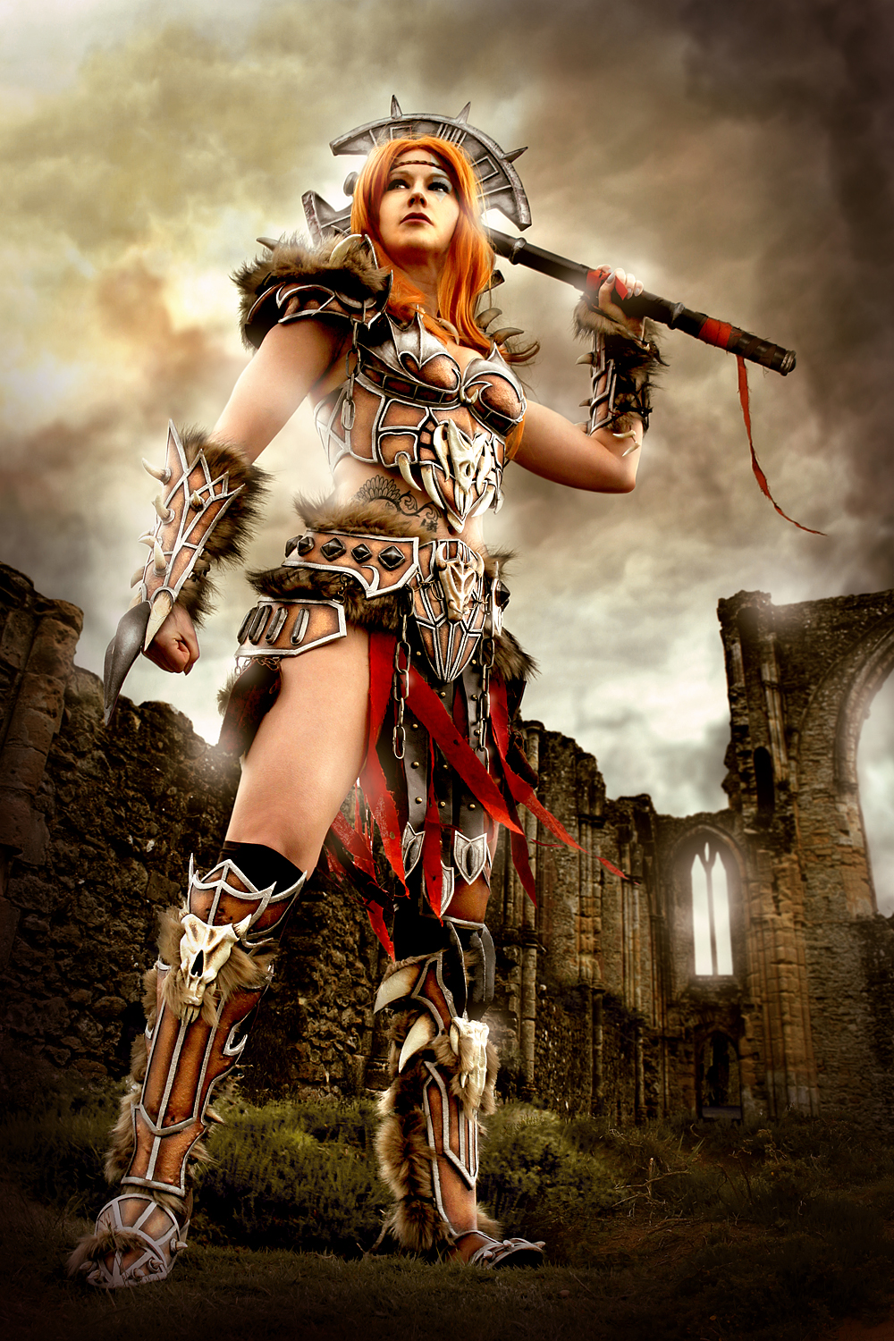 The Barbarian: Nephalem Glory by LittleBlondeGoth
