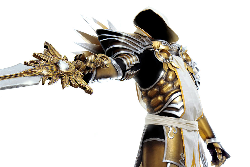 Tyrael: I am Justice by LittleBlondeGoth