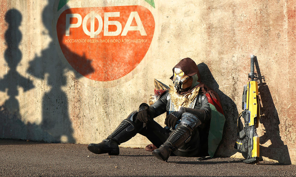 The Hunter: Cosmodrome by LittleBlondeGoth