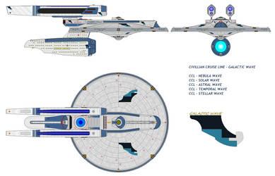 Galactic Wave passenger liner - Nebulae Breeze