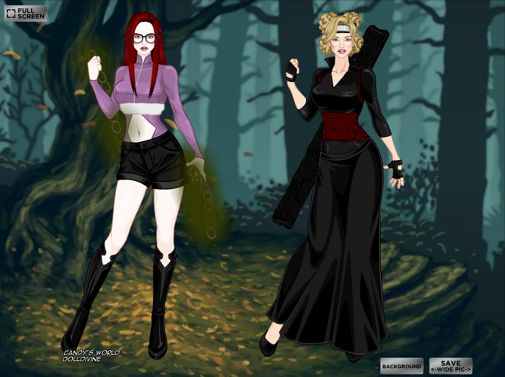 X Girl Naruto Girls Part #3 b...