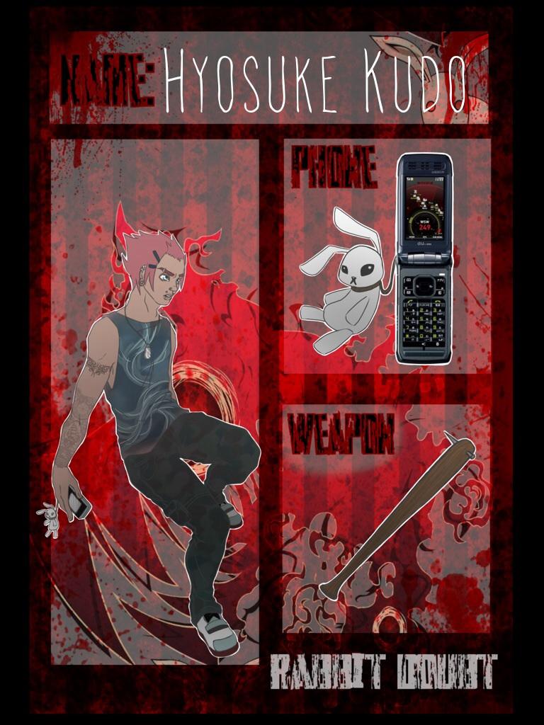 Rabbit Doubt App: Hyosuke Kudo by BlaerLightBreeze
