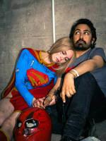 Kara resting on my shoulder by Ruiz-Davila
