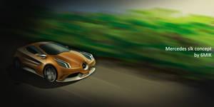 Mercedes slk concept