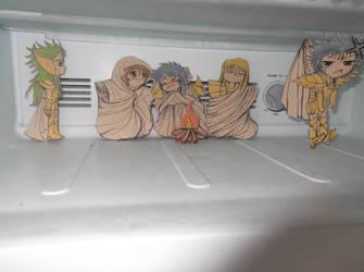 saint seiya on freezer! by Geisakelly