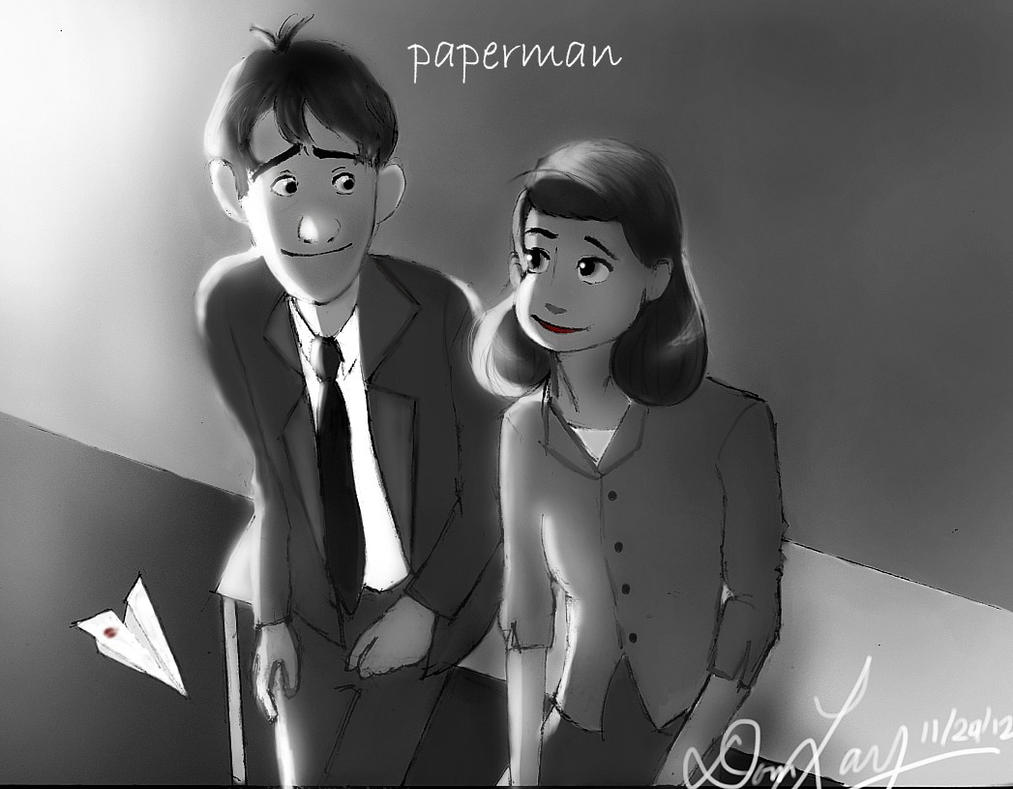 Disney's Paperman by geekyglassesartist