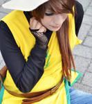 Yellow trainer cosplay