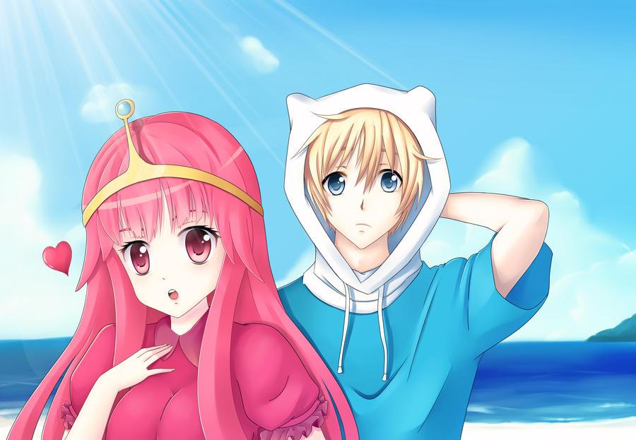 Adventure time anime toon