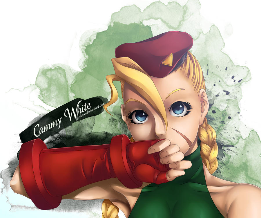 Cammy White ~Lineart by Lchrno~ by lchrno
