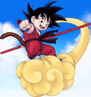Dragon Ball -Kid Goku- by lchrno