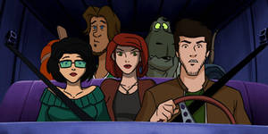 Mystery Squad in the Clue Cruiser