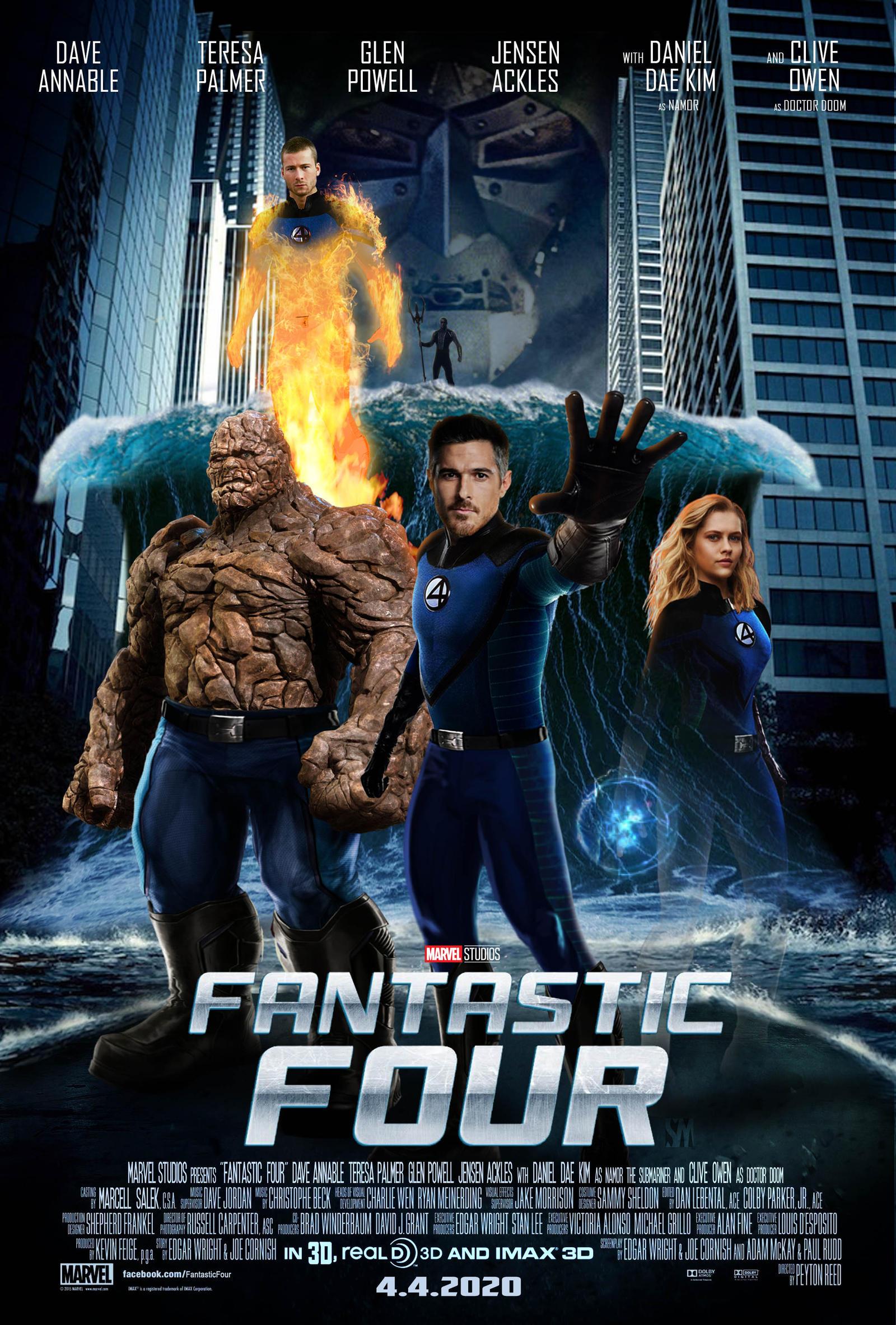 fantastic four filme