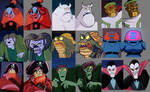 Classic Scooby-Doo Monsters Redesigned