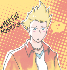 Martin Mystery Doodle by imagleekandproud