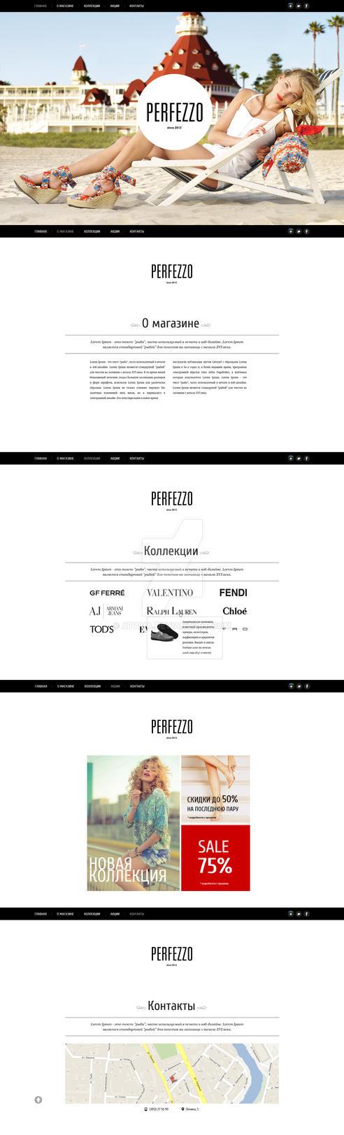 Perfezzo (shoe store) by Atava