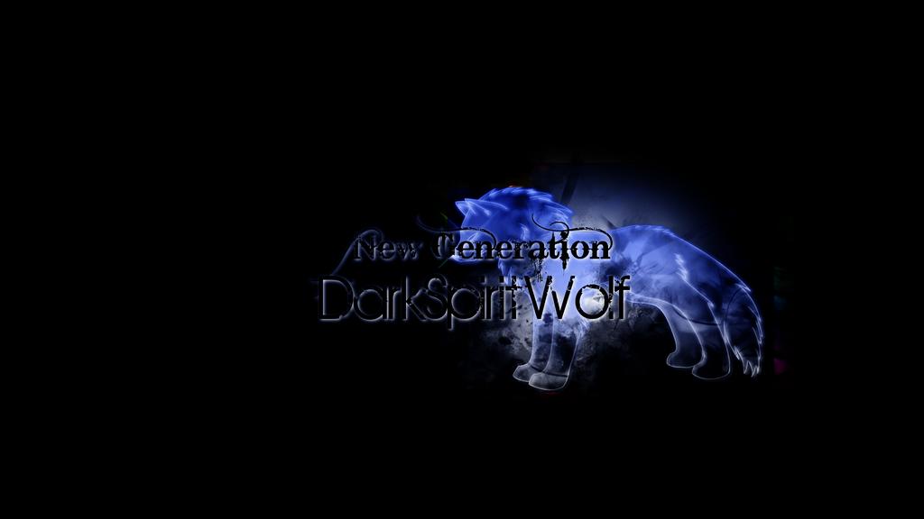 Dark Spirit Wolf Wallpaper By XXSpectrumWolfXx