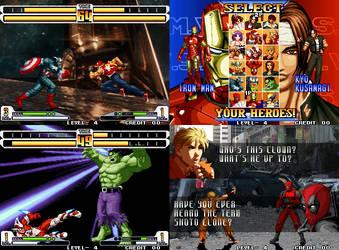 Marvel vs SNK (MvS) by ALThedge