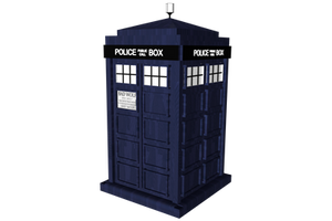 Doctor Who - Tardis Transparent by PlaviDemon