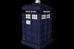 Doctor Who - Tardis Transparent