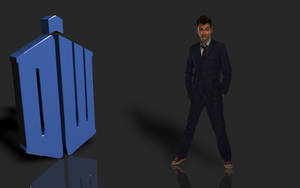 Doctor Who Logo (David Tennant) by PlaviDemon