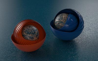 Sphericals Rotation by PlaviDemon
