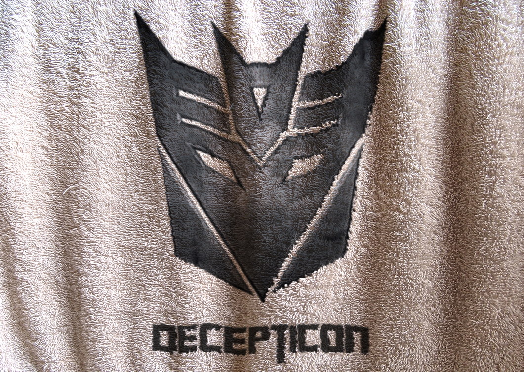 Decepticon Logo Cloth by PlaviDemon