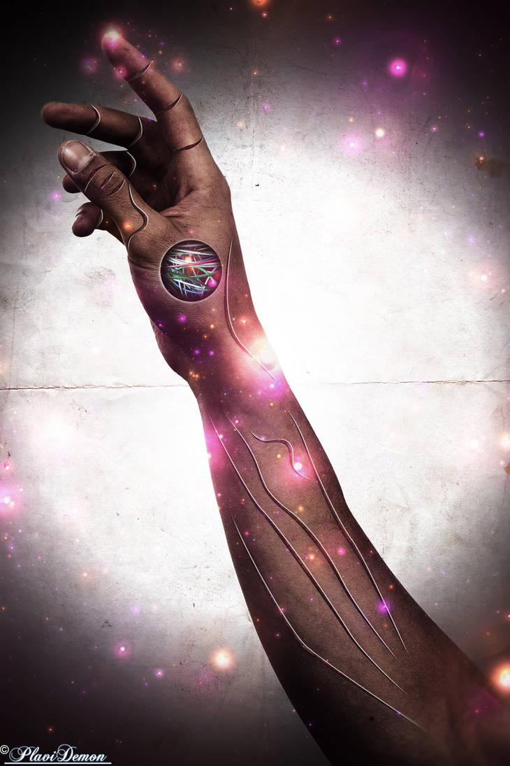 Cyborg Hand by PlaviDemon